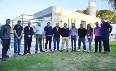 Autoridades de Deporte de las Regiones VI y VII se reunieron en San Fernando
