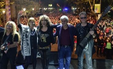 Patricia Sosa deslumbró a una multitud en San Fernando