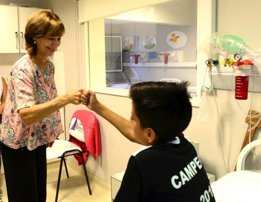 """Con """"Deporte Saludable"""", San Fernando busca controlar la salud de los chicos"""