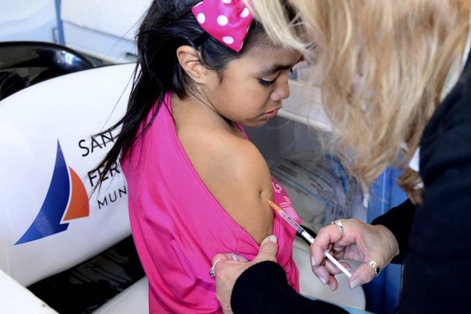 Avanza la campaña de vacunación antigripal en San Fernando