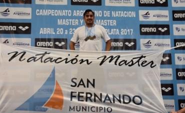 San Fernando se destacó en el Campeonato Argentino de Natación
