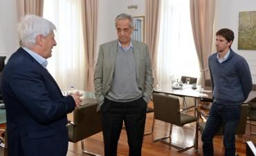 Andreotti recibió a Suárez Lastra, Secretario Ejecutivo de la Comisión Consultiva del Área Metropolitana