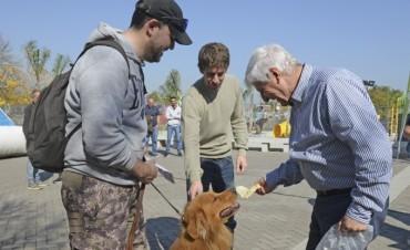 San Fernando celebró el 'Día del Animal' con una actividad exclusiva para las mascotas
