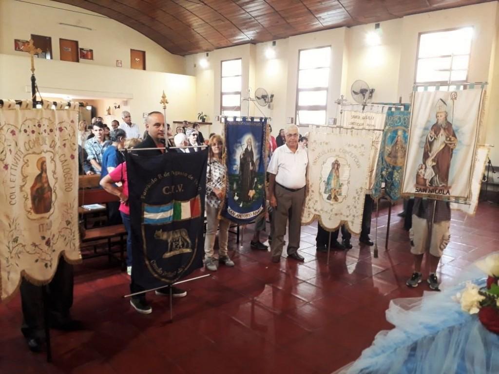 San Fernando acompañó el 33° aniversario de la congregación María Santissima Annunziata
