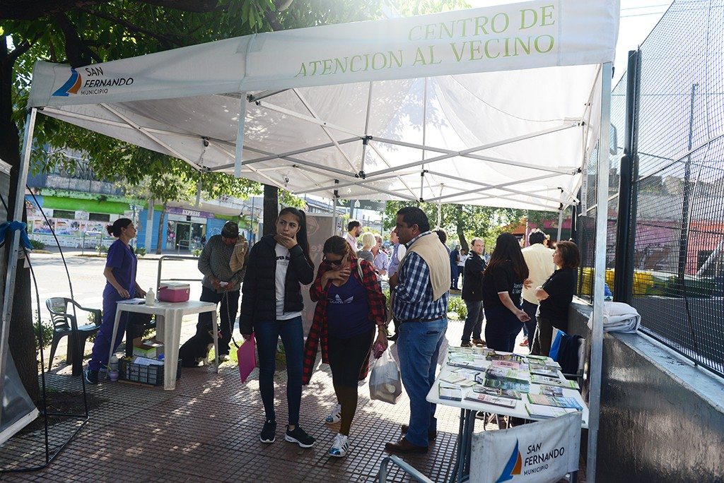 El 'Municipio en tu Barrio' volvió al Centro Comercial de Virreyes