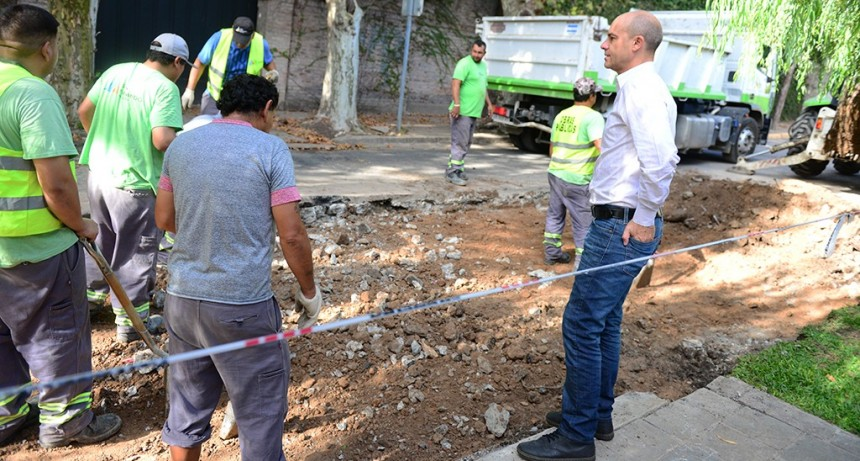 Avanza el Plan de Repavimentación en el barrio Pagliettini