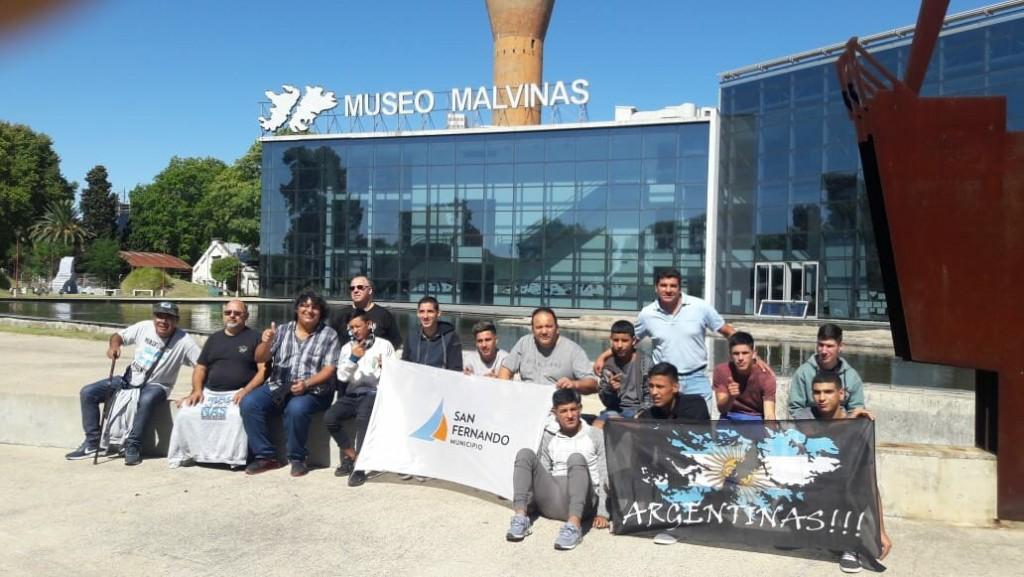 Los jóvenes de Casa de Día visitaron el Museo Malvinas en la Ciudad de Buenos Aires