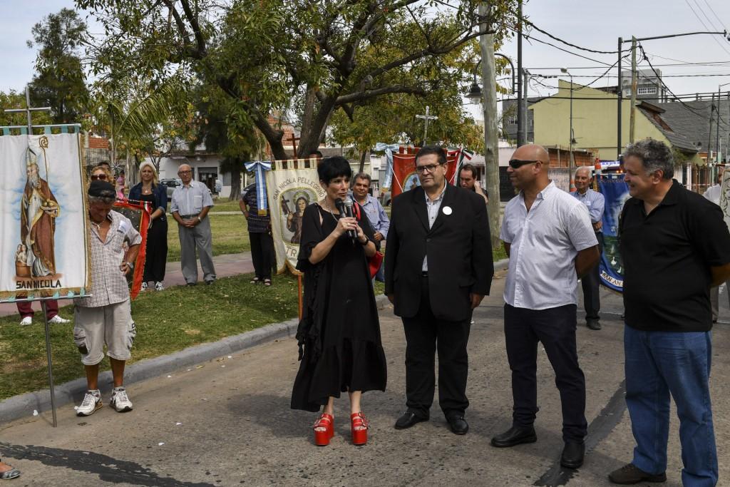 San Fernando acompañó la procesión y misa en honor a la Virgen de la Santissima Annunziata