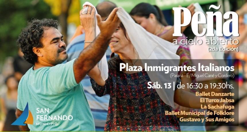 Se viene la segunda Peña a Cielo Abierto en San Fernando