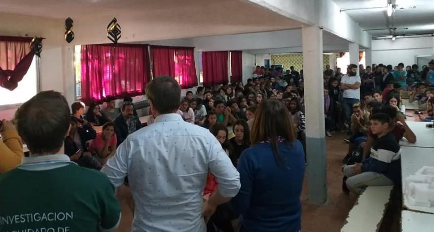 San Fernando realizó un curso en prevención de accidentes ofídicos en escuelas isleñas