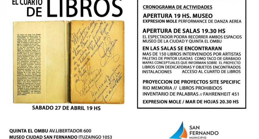 Libros, danza, videos e instalaciones en una gran muestra artística en San Fernando