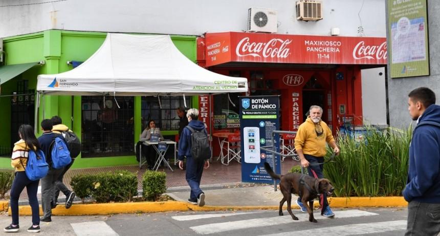 San Fernando amplía su sistema de seguridad con la instalación de Botón de Pánico en domicilios