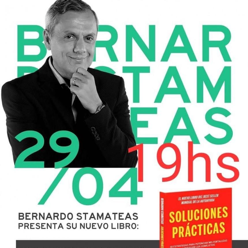 Bernardo Stamateas presenta en San Fernando su nuevo libro