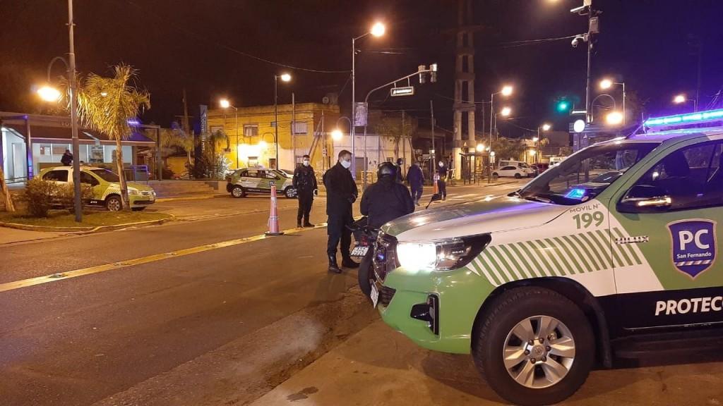San Fernando intensifica los controles de seguridad en todos los accesos a la ciudad