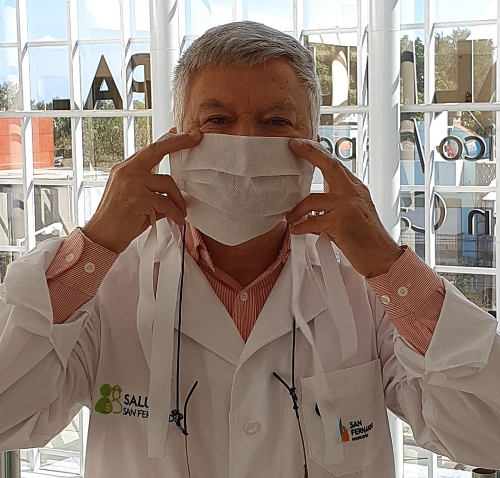 Salud Pública de San Fernando recomienda los barbijos sociales para prevenir el coronavirus