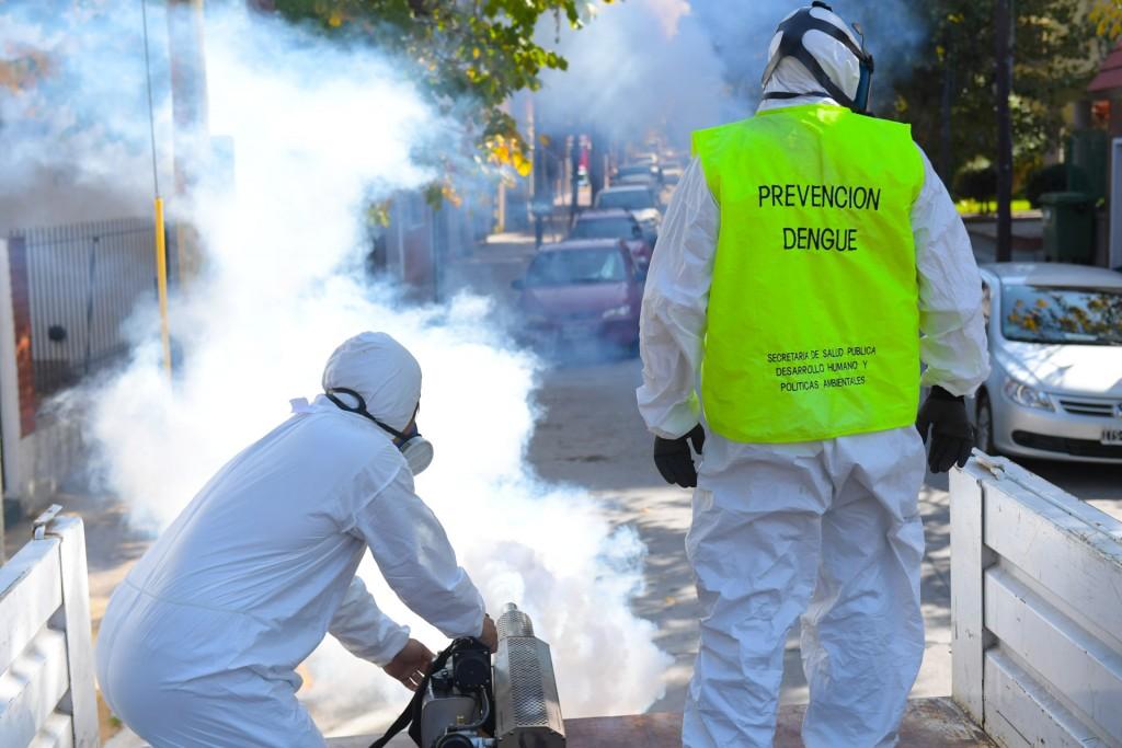 San Fernando sigue fumigando contra el dengue y solicita prevención en los hogares mayor