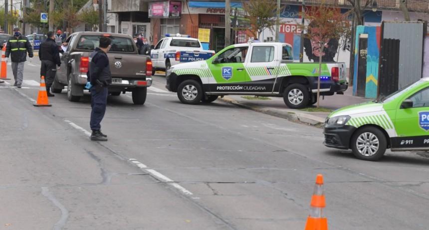 San Fernando: 1108 detenciones en los controles de seguridad