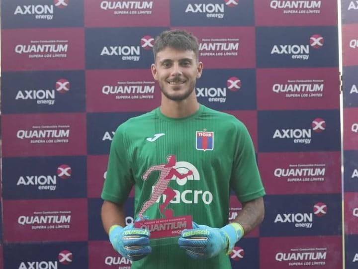 CUATRO AL HILO TIGRE LE GANO A UN FLOJO TEMPERLEY POR 2 A 0