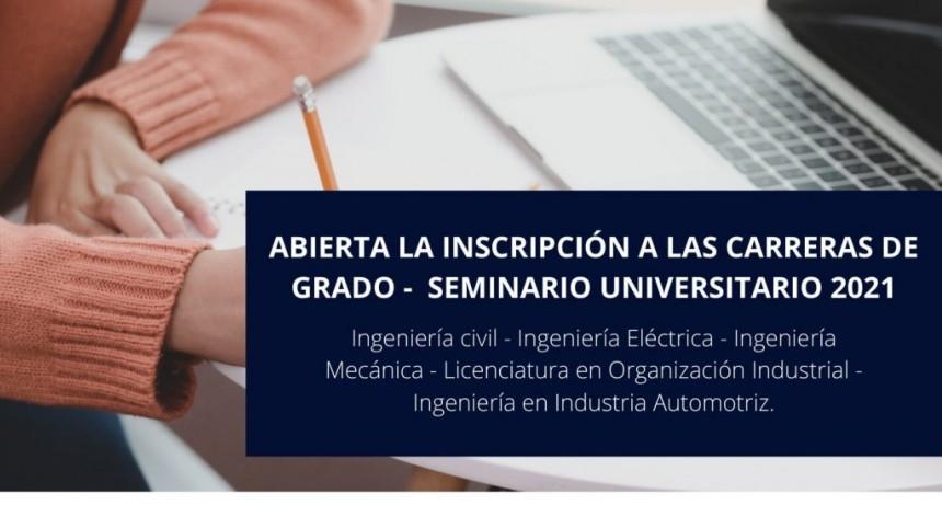 Ya se encuentran abiertas las inscripciones a las carreras de grado en la UTN Pacheco