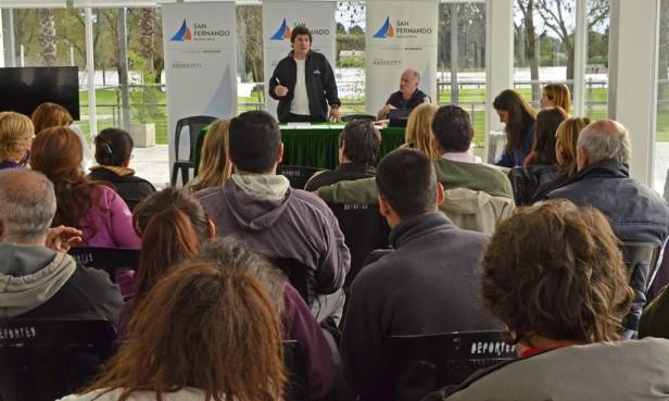 San Fernando: se presentaron los Torneos Intercolegiales