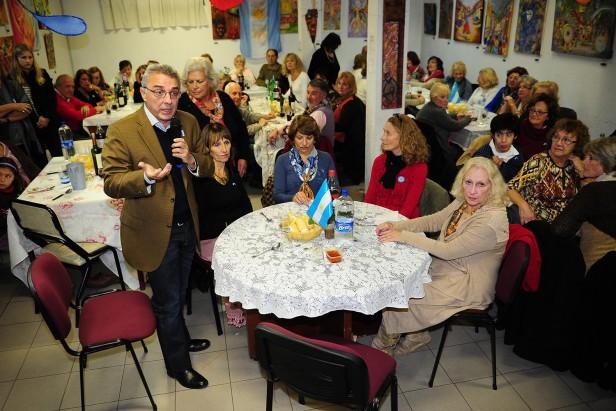 Massa y Zamora disfrutaron la fiesta patria en Tigre
