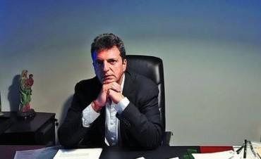 Sergio Massa presentó en Tigre un sistema de reconocimiento de caras