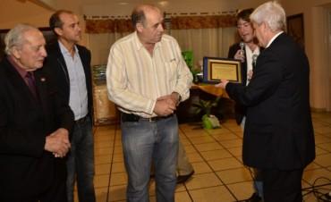 Andreotti participó de una cena a beneficio de los Bomberos Voluntarios por su 118° aniversario