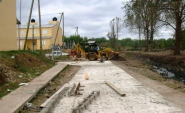 Nuevos asfaltos que acompañan el plan de urbanización de Rincón