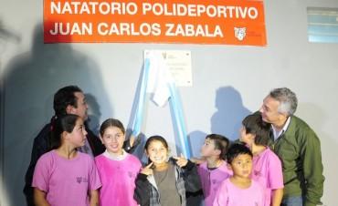 El Polideportivo Zabala de Benavídez ya tiene su pileta climatizada