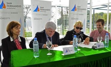 San Fernando firmó un convenio para trabajar contra el Bullying