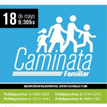 "Gran ""Caminata Familiar"" en San Fernando"