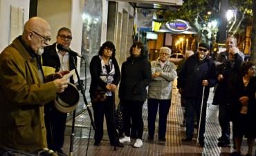 El compositor de tango Francisco Pracánico fue homenajeado en San Fernando