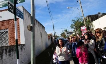 "Tigre homenajeó a Dionisia ""La Gallega"" López Amado"
