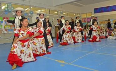 Comenzaron en las escuelas de San Fernando los festejos patrios por la semana de Mayo