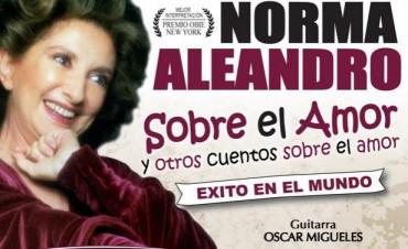 """""""Sobre el Amor y otros Cuentos sobre el Amor"""" con Norma Aleandro, se presentará en San Fernando"""