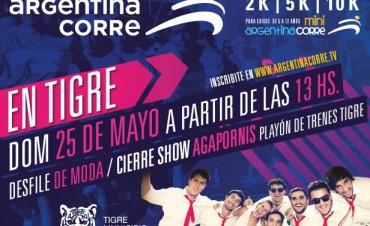 """Agapornis cerrará """"Argentina Corre"""", el próximo domingo en Tigre"""