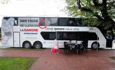 Los vecinos de Tigre Centro ya pueden donar sangre
