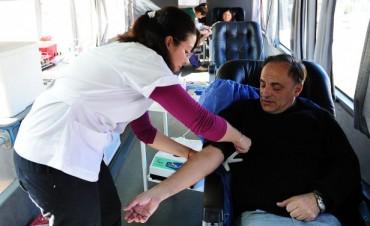 Los concejales de Tigre, comprometidos con la donación de sangre