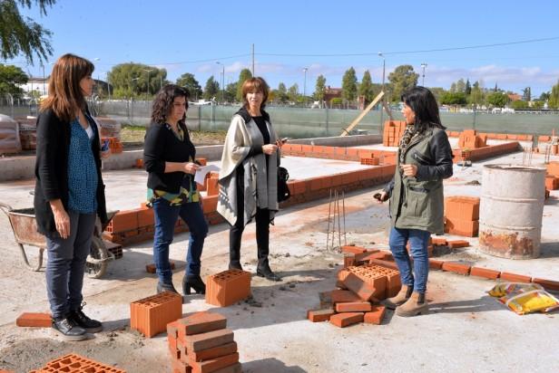 Avanzan las obras del futuro Centro Educativo Social