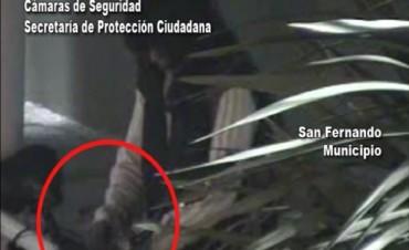 San Fernando: sin saber andar en bicicleta intentó robar una, pero fue detenida gracias a las cámaras de seguridad
