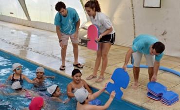 Los chicos de los CEIM hacen Educación Física en los Polideportivos Municipales