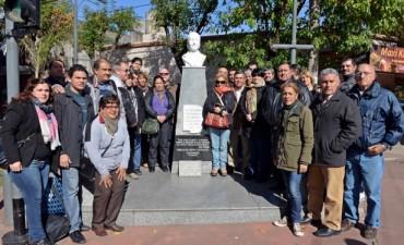 San Fernando recordó a Evita a 96 años de su nacimiento
