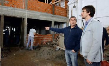 Avanzan las obras del nuevo Centro de Monitoreo de San Fernando