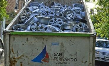 """Patrullas Municipales y Policía desbaratan banda de """"roba ruedas"""" en San Fernando"""