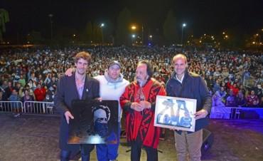 Horacio Guarany brilló ante más de 25.000 personas en  San Fernando