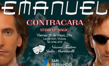 El Mago Emanuel se presentará en el Teatro Martinelli