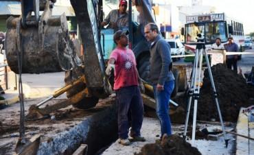 Avanzan las obras hidráulicas complementarias al túnel de Avellaneda