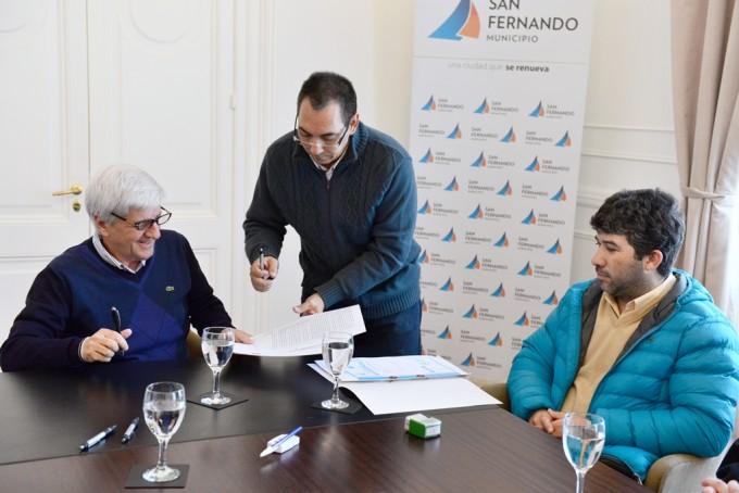 El Municipio firmó un convenio de pasantías con el Instituto Profesional N° 117
