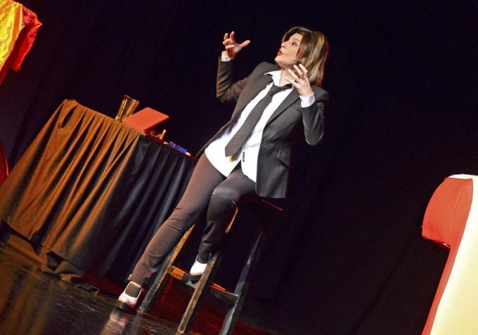 Carolina Papaleo volvió a San Fernando, a sala llena