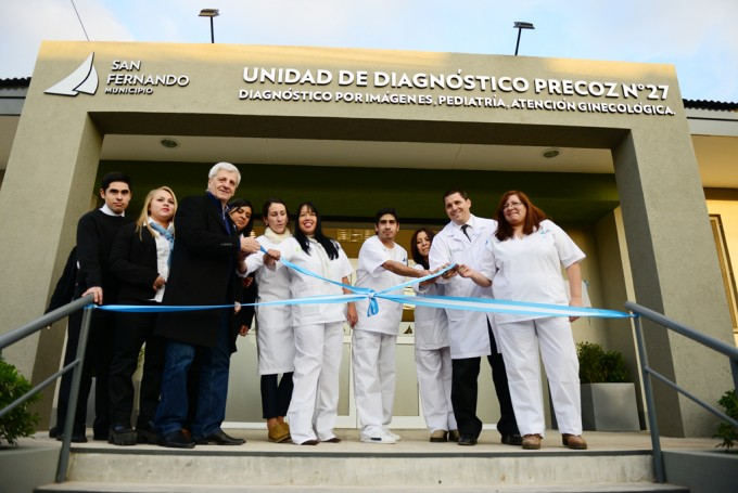 Andreotti inauguró la Unidad de Diagnóstico Precoz N°27